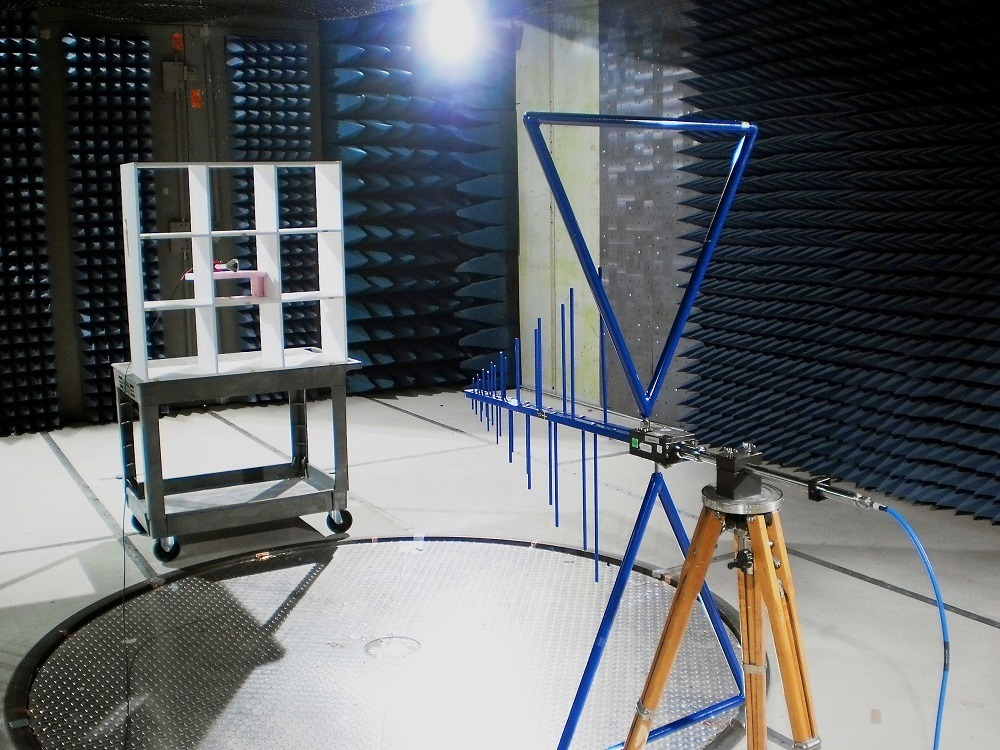 Field Uniformity in Large Semi-Anechoic Chamber