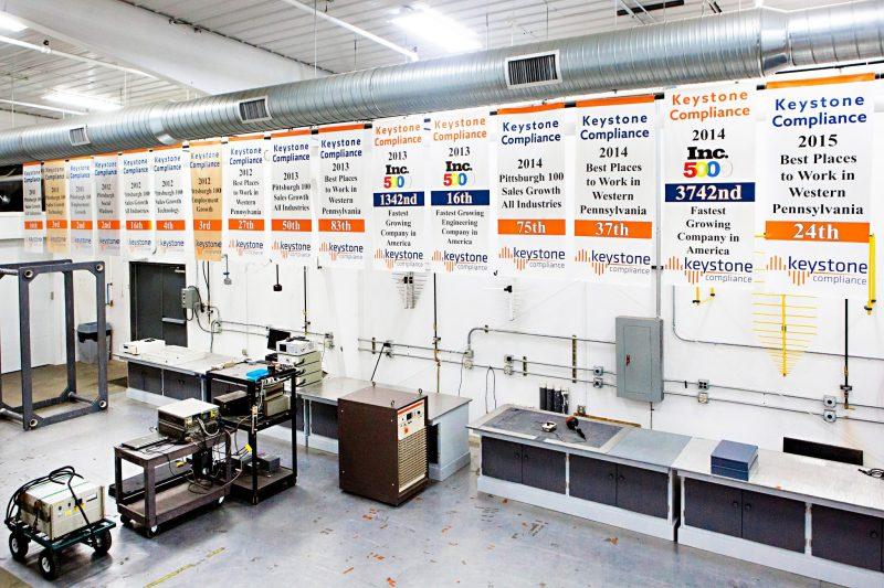 Keystone Compliance Award Wining Test Lab