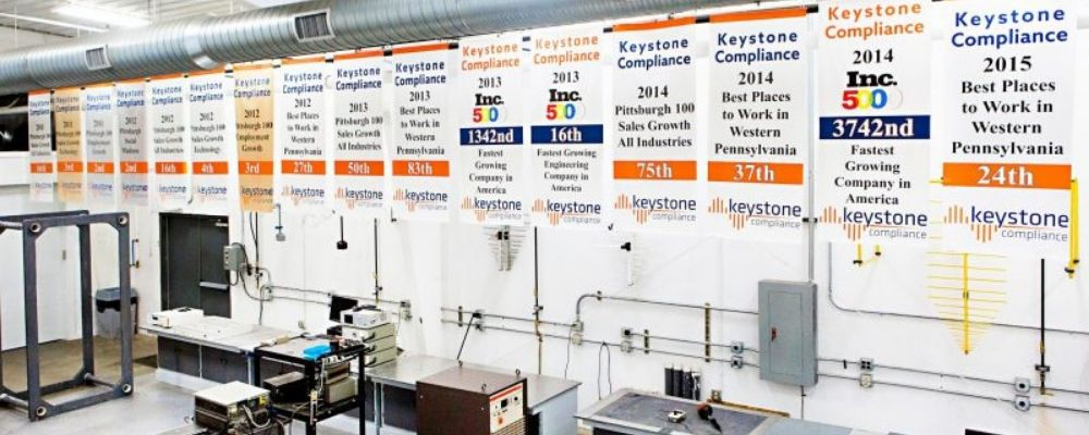 Keystone Compliance facility and equipment