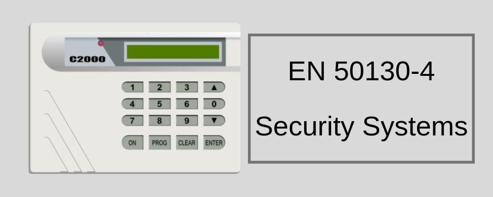 EN 50130-4 Testing