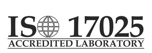 ISO 17025 Accredited Lab